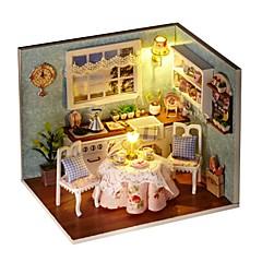 Χαμηλού Κόστους Κουκλόσπιτα-Φτιάξτο Μόνος Σου Διάσημο κτίριο Σπίτι Ξύλινος Κομμάτια Κοριτσίστικα Παιδικά Δώρο