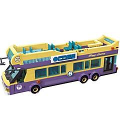tanie Klocki magnetyczne-ENLIGHTEN Samochodziki do zabawy Klocki Autobus Dla obu płci Zabawki Prezent