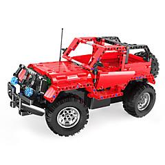 Rakennuspalikat Kauko-ohjattavat lelut Opetuslelut Lelut Auto Kauko-ohjain DIY Kaukosäädin lelu Lasten Pieces