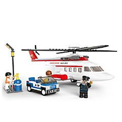 tanie Klocki magnetyczne-Klocki Figurki z klocków Samolot Helikopter Fun & Whimsical Dla chłopców Zabawki Prezent