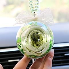 Diy Automobilanhänger Dekoration Blumengeschenk Auto Anhänger&Ornamente Glas Kristall