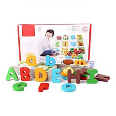Desková hra Vzdělávací hračka Puzzle Hračky Hračky Písmeno Pieces Chlapci Dívky Dárek