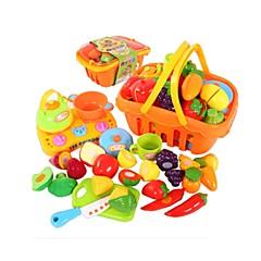 Hrajeme si na... Toy kuchyňských sestav Toy Foods Hračky Ryby Friut Simulace Chlapci Pieces