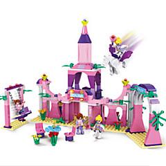 tanie Klocki magnetyczne-Klocki Zamek Fun & Whimsical Dla dziewczynek Zabawki Prezent
