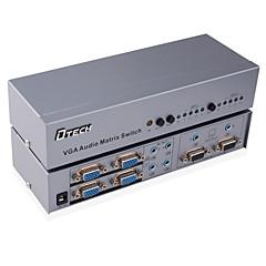 VGA 3,5 mm Audio Jack Schalter, VGA 3,5 mm Audio Jack to VGA 3,5 mm Audio Jack Schalter Buchse - Buchse 1080P