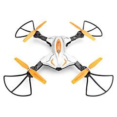 billige Fjernstyrte quadcoptere og multirotorer-RC Drone TK111W 4 Kanaler 6 Akse 2.4G Med 0.3MP HD-kamera Fjernstyrt quadkopter LED-belysning En Tast For Retur USB-kabel Propellskjermer