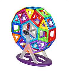 billiga Leksaker och spel-Magnetiskt block Magnetiskt byggset Cirkelrunda Magnet Barn Leksaker Present