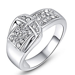 levne -Dámské Široké prsteny Křišťál Základní design láska Sexy Módní Přizpůsobeno Cute Style luxusní šperky Klasický Elegantní Slitina