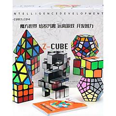 Rubiks kube Glatt Hastighetskube Pyraminx Speil Cube Magiske kuber Stress relievers Plastikker Rektangulær Kvadrat Gave