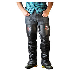 Qinxiang 9014 motocyklové kolenní chrániče teplo ochranné oblečení muži a ženy zimní elektrický vůz kolena podložky legíny cyklistické