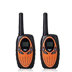 billige Walkie-talkies-365 Håndholdt Programmeringskabel / VOX / Kryptering 1,5-3 km 1,5-3 km 1 W Walkie Talkie Toveis radio