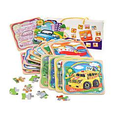 Bildungsspielsachen Holzpuzzle Spielzeuge LKW friut Unisex Stücke
