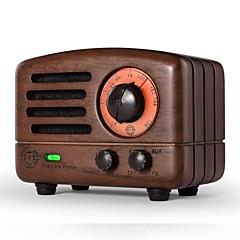 MAO KING MW-2 Kannettava radio FM Radio Kiinteä ulkokaiutin Kahvi