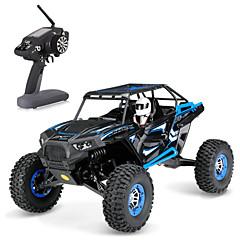 billige Fjernstyrte biler-Radiostyrt Bil WLtoys 2.4G Buggy (Off- Road) / Fjellklatring Bil / Monster Truck Bigfoot 1:10 Børste Elektrisk 30 km/h Fjernkontroll / Oppladbar / Elektrisk