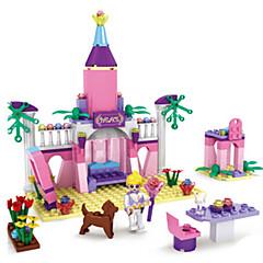 tanie Klocki magnetyczne-Klocki Model Bina Kitleri Zamek Fun & Whimsical Dla dziewczynek Zabawki Prezent