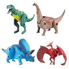 Tier-Actionfiguren Spielzeuge Dinosaurier Tier Transformierbar Heimwerken Kinder 1 Stücke