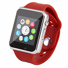 tanie Inteligentne zegarki-Inteligentny zegarek na Android GPS / Kamera / aparat / Obsługa wiadomości Rejestrator aktywności fizycznej / 0.3 MP / 64 MB / GSM(850/900/1800/1900MHz) / Żyroskop / MTK6261