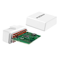 baratos -cacagoo wireless 4.0 carro obd ii leitor de código do scanner scanner de ferramentas de diagnóstico com função de exibição hud para