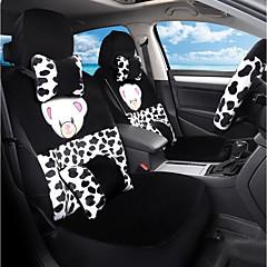 tegneserie plysj bilsete pute sitteplass sete i høst og vinter omgitt av en fem seter-zebra striper