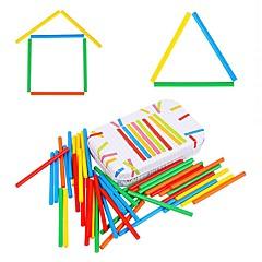 Kinder zählen Stab Subtraktion montessori Mathe Lehre Puzzle Arithmetik Spielzeug jj7701-0524