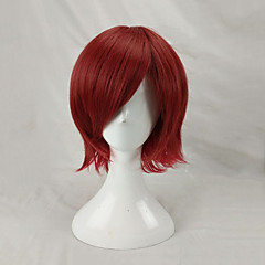cheap Wigs & Hair Pieces-Synthetic Wig / Cosplay Wig Men's Straight Red Layered Haircut Synthetic Hair Red Wig Short Capless Watermelon Red hairjoy