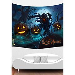 billige Veggdekor-Ferie Veggdekor polyester Halloween Veggkunst, Veggtepper Dekorasjon