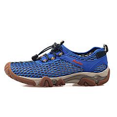お買い得  靴&アクセサリー-LEIBINDI 登山靴 カジュアルシューズ 男性用 アンチスリップ 耐久性 屋外 性能 レジャースポーツ レザーレット ラバー