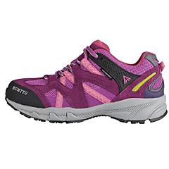 ハイキング・シューズ 登山靴 女性用 耐久性 通気性 スエード ラバー