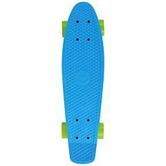 22.5 Inch Complete Skateboards Ammattilaisten Muovit ABEC-5-Sininen Yhtenäinen