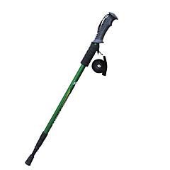 3 Nordic Walking Stöcke 135cm Profi Level Dämpfung Rutschsicher Wolfram Aluminiumlegierung Camping & Wandern Outdoor Übungen Skilanglauf