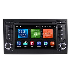 cheap Car DVD Players-Android 7.1.2 Car DVD Player Multimedia System 7 Inch Quad Core Wifi EX-3G DAB for Audi A4 2002-2007 WE7078
