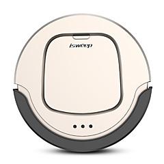 billige Smartrobotter-ISWEEP Robot Vacuum Renere JWS-S550 Fjernbetjening Wet Mopping Selvopladning Fjernbetjening Automatisk Rensning Spot rengøring Edge Cleaning / Antikollisionssystem / Planlægningsplanlægning