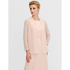 Long Sleeves Chiffon Wedding Party / Evening Women's Wrap Coats / Jackets