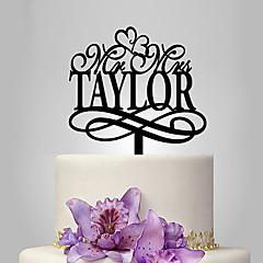 קישוטים לעוגה חתונה נושא קלאסי חתונה תיק פולי