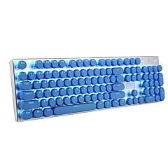 Tastatur Keycap 104 Doppel-Shot-Injektion Hintergrundbeleuchtung Keycaps für alle Spiele mechanische Schalter Tastaturen mit Schlüssel