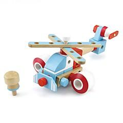 צעצועיערכת עשה זאת בעצמך אבני בניין צעצוע חינוכי רובוט צעצועים כלי טיס מכונה רובוט חתיכות נערים בנות מתנות