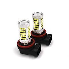 2kpl auto alkuperäinen sumuvalo korvaa lamppu 35w h4 h7 h8 h9 h11 9005 9006 samsung led sumuvalo valkoinen / punainen / keltainen /