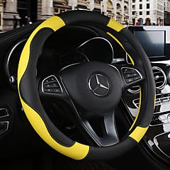 billige Rattovertrekk til bilen-Rattovertrekk til bilen 38 cm Burgunder / Oransje / Gul For Chevrolet Aveo / Cruze / Epica