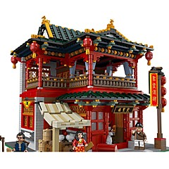 Bausteine Spielzeuge Berühmte Gebäude Chinesische Architektur Architektur Stücke Unisex Geschenk