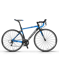 אופני קרוזר רכיבת אופניים 21 מהיר 700CC/26 אינץ' Shimano דיסק בלימה ללא דאמפים נגד החלקה סגסוגת אלומיניום סיבי פחמן + EPS Aluminum Alloy