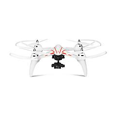 billiga Drönare och radiostyrda enheter-RC Drönare WLtoys Q696-A 4 Kanaler 2.4G Med HD-kamera 5.0MP 1080P Radiostyrd quadcopter LED Lampor / Huvudlös-läge / 360-Graders Flygning Radiostyrd Quadcopter / Fjärrkontroll / Kamera / Sväva / CE