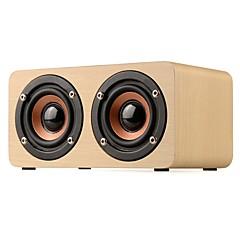 cheap -W5 Mini Style Bluetooth 3.5mm AUX Bookshelf Speaker Beige Brown
