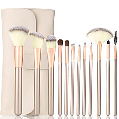 cheap Shop By Brands-12pcs Professional Makeup Brushes Makeup Brush Set Synthetic Hair Lipstick / Eyebrow / Eyeliner