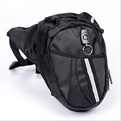 モーターのライダーのための足のオートバイバッグレースサイクリングファニーパックウエストベルトバッグオートバイ旅行バッグをドロップ