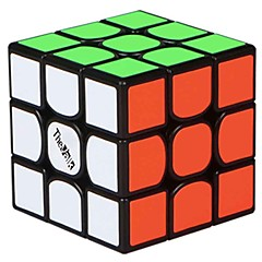 preiswerte -Zauberwürfel TheValk 3 3*3*3 Glatte Geschwindigkeits-Würfel Magische Würfel Bildungsspielsachen Puzzle-Würfel Glatte Aufkleber Quadratisch