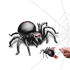 billige Originale moroleker-Spøkeleke Halloween Utstyr Pedagogisk leke Nyhet Moto Dyr SPIDER Barn Dyr GDS Insekt Mote Barne Gave 1pcs