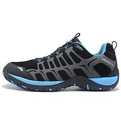 נעלי ריצה נעלי הרים בגדי ריקוד גברים נגד החלקה מוגן מגשם לביש נשימה ספורט פנאי סוליה נמוכה עור גומי צעידה ריצה