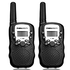 billige Walkie-talkies-T-388 Walkie-talkie Håndholdt Analog VOX CTCSS/CDCSS 3-5 km 3-5 km 22CH 0.5W Walkie talkie Tovejs radio