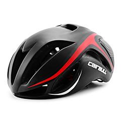 billige -Bike Helmet 17 Ventiler CE CE EN 1077 Cykling Justerbar Fuldmaske Bjerg Ultra Lys (UL) Sport PC EPS Vej Cykling Rekreativ Cykling Cykling
