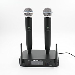 cheap Microphones-GLXD242 Wireless Microphone Dynamic Microphone For Conference Microphone
